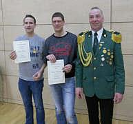 Julian Bicker, Andreas Schwering, Oberst Antonius Hempen