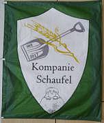 Fahne der Kompanie Schaufel