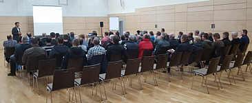 EWE-Veranstaltung zum Glasfasernetz in Wippingen