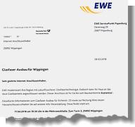 Einladung der EWE