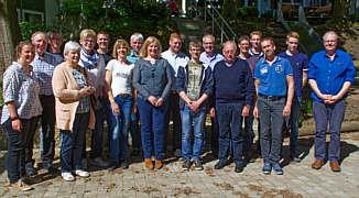 Teilnehmer des Workshops in Oesede am 5.Mai 2018