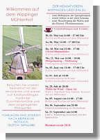 Flyer des Heimatvereins