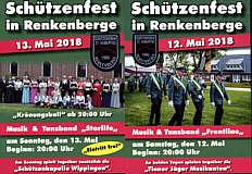 Flyer zum Schützenfest Renkenberge