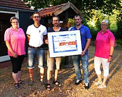 von links: Claudia Kruse, Thomas Stein, Hermann-Josef Pieper, Andreas Klaas, Christel Sievers