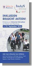 Flyer zur Inklusiven Radtour von Dörpen nach Papenburg