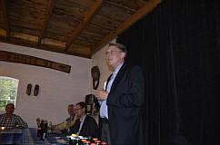 Besuch des CDU-Landratskandidaten Marc Andre Burgdorf in Wippingen