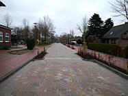 Die neu gestaltete Schulstraße