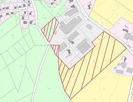 Flächennutzungsplanänderung zeichnerische Darstellung