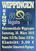 Flyer Legato Musica
