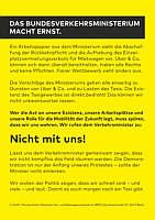 Flyer des Deutschen Taxi- und Mietwagenverband e.V. (BZP)