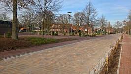 Neu gestaltete Schulstraße