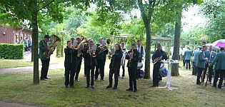 Schützenkapelle beim letzten Schützenfestmontag 2018