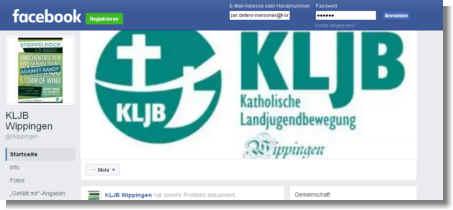 Zur Facebook-Seite der KLJB Wippingen