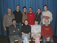 Die Spieler der Theatergruppe Wippingen 2003
