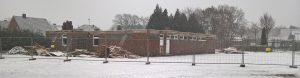 Abriss der alten Schützenhalle Wippingen Januar 2019