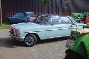 Mercedes 200, 1972, 19 PS Benziner, Besitzer: J. Frericks