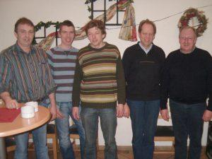 Vorstand Landwirtschaftlicher Ortsverein Wippingen 2008