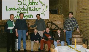 1998 feierte der Landwirtschaftliche Ortsverein Wippingen sein 50jähriges Bestehen