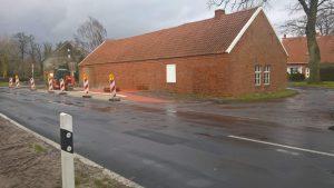 Neubau der Buishaltestelle Püngel in Wippingen