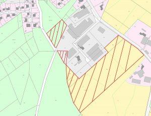 Flächennutzungsplan Wippingen Gewerbegebiet Eichenkamp