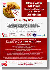 Flyer zum Equal Pay Day 2019 Thumbnail