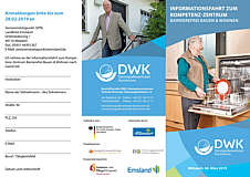 Flyer Seniorenstützpunkt zu Barrierefreiem Wohnen Tagesfahrt 2019