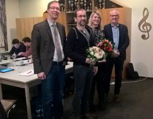 von links: Hermann Wocken, Hermann-Josef Pieper, Elisabeth Speller, Hermann Gerdes