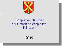 Präsentation des Wippinger Haushaltes 2019