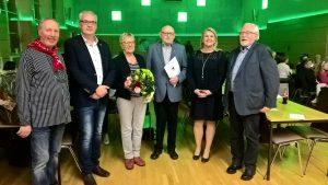 v. li: Klaus Abeln, Hermann Gerdes, Margret Kimmann, Josef Kimmann, Marion Martina, Hans Schwarte