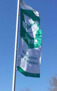 Fahne: Bürgermeister für den Frieden