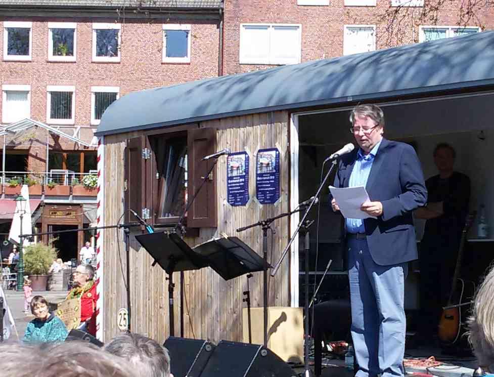 Emdens Oberbürgermeister Bernd Bornemann