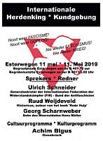 Einladung zur Kundgebung am 11.Mai 2019 in Esterwegen