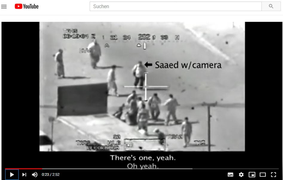 Wikileaks-Video über Kriegsverbrechen der USA im Irak