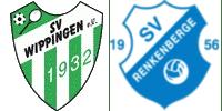 Vereinswappen des SV Wippingen und des SV Renkenberge
