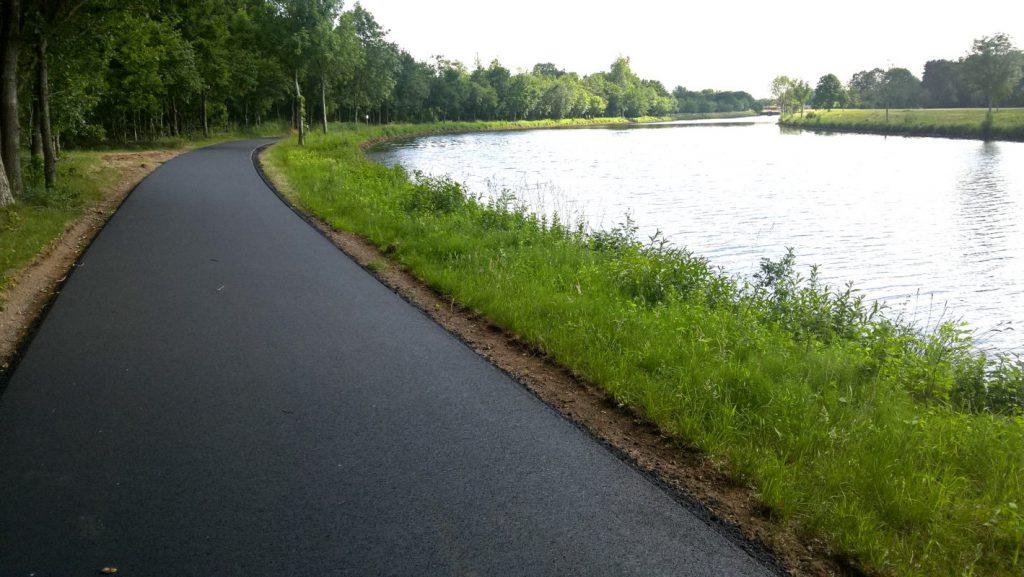 Radweg am Dortmund-Ems-Kanal zwischen Düthe und Steinbild