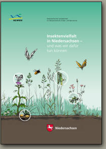 Broschüre des Niedersächsischen Umweltministeriums über die Lebensräume von Insekten in Niedersachsen