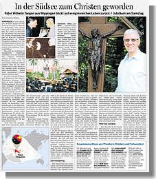 Ems-Zeitung vom 28.06.2019 - Goldenes Pristerjubiläum von Pater Wilhelm Tangen