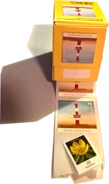 Briefmarken 70 und 10 Cent