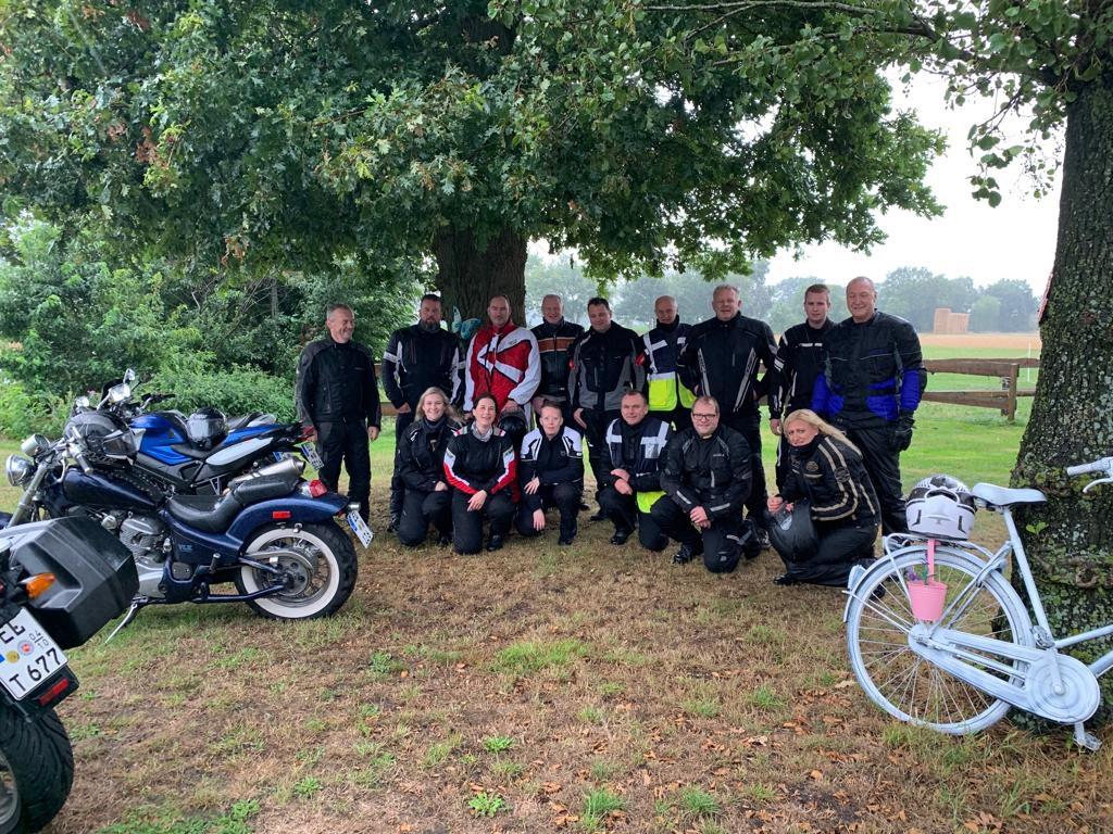 Teilnehmer der 2. Wippinger Motorradtour
