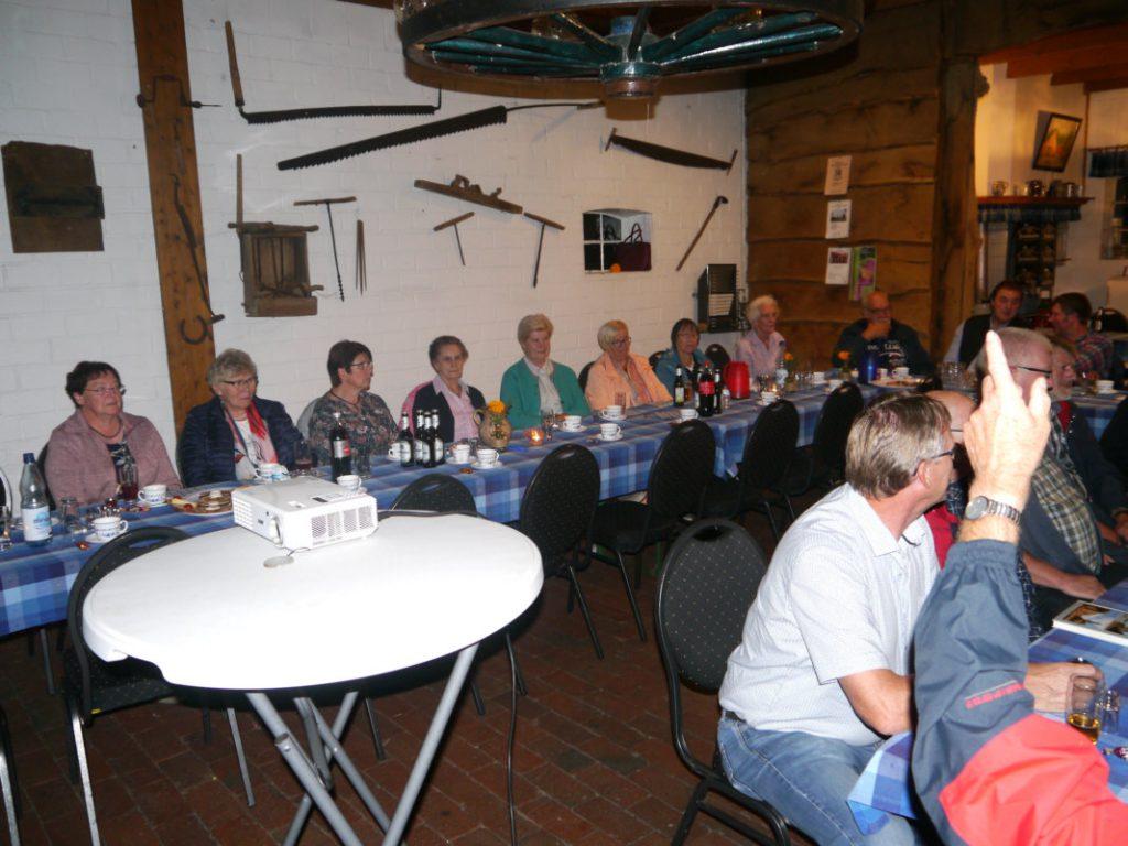 Generalversammlung des Heimatvereins - Blick in die Versammlung