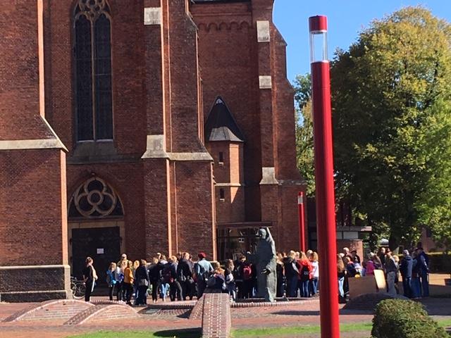 Öffentliches Gebet zur Bewahrung der Schöpfung vor der Antoniuskirche 20.09.2019