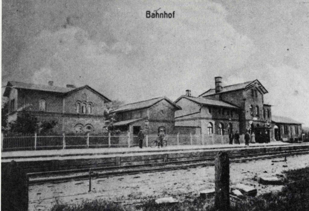 Bahnhof Kluse 1908