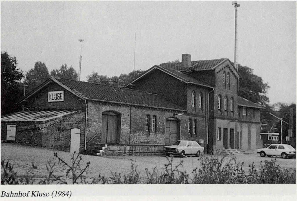 Bahnhof Kluse 1984