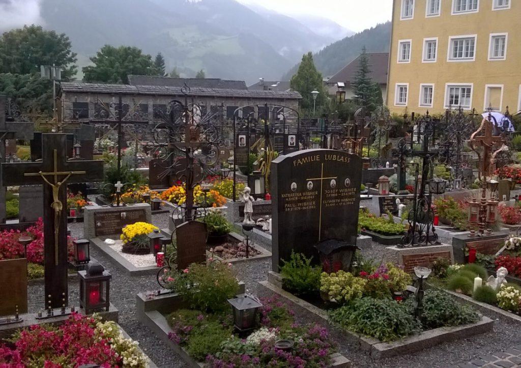 Friedhof in Matrei, Osttirol