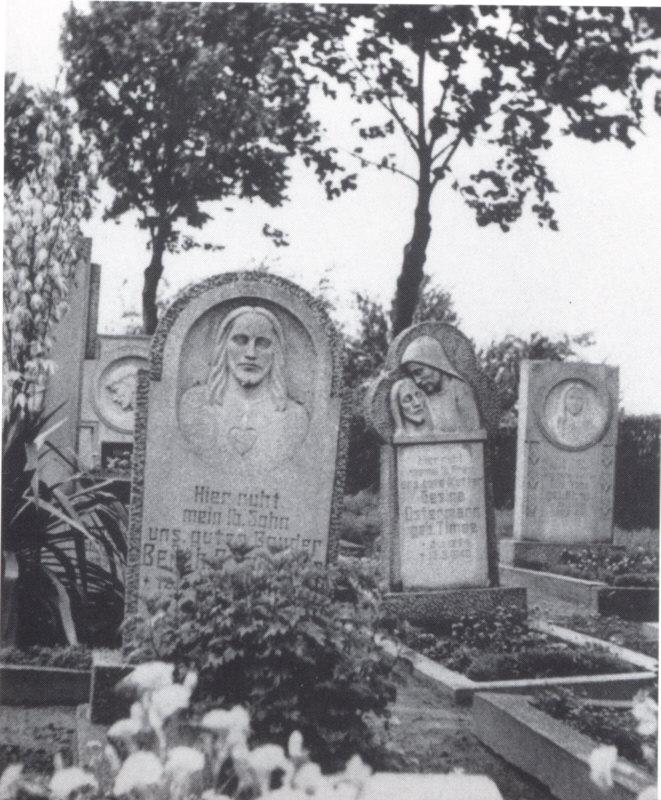 Friedhof vor der Umgestaltung