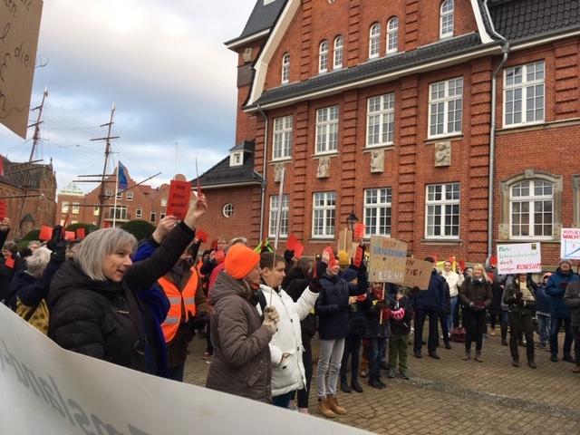 Klimaschutzdemo in Papenburg am 29.11.2019