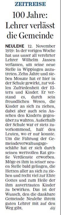 Ems-Zeitung 19.11.2019
