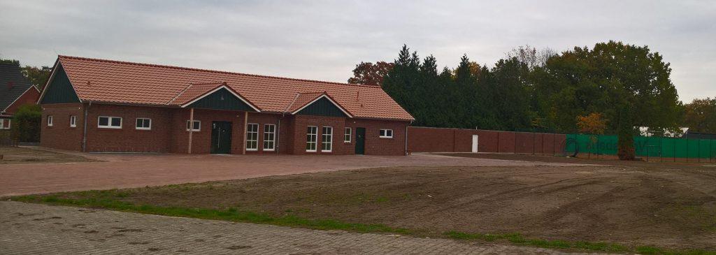 Die neue Schützenhalle in Wippingen