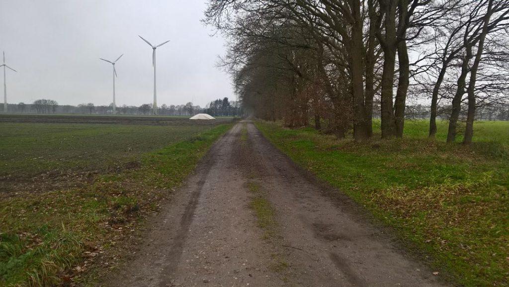 Wippinger Kirchweg Richtung Brokamp