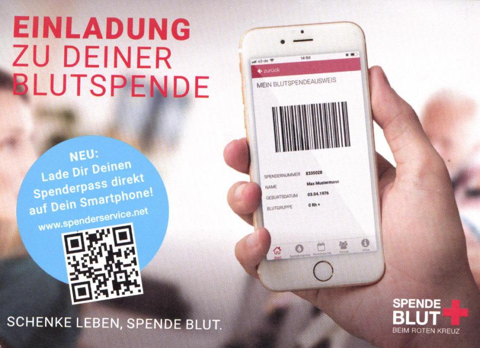 Zur Blutspender-App